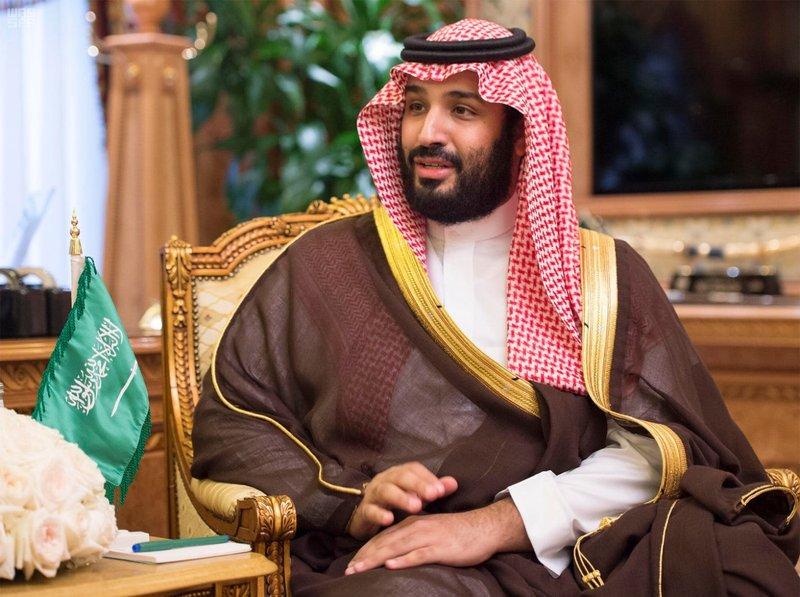 الأمير محمد بن سلمان بن عبدالعزيز يلتقي بوزير الدفاع في قصر الصفا